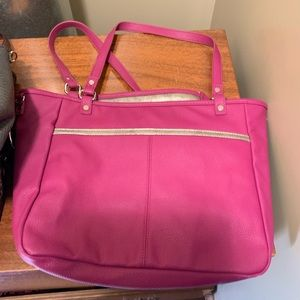 Thirty One Jewel Pink Purse BRAND NEW